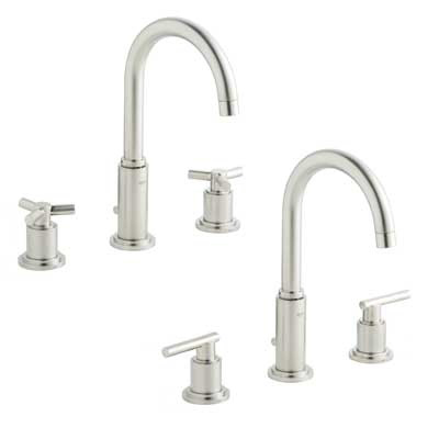 Grohe 20069 EN0 Atrio Three Hole Bath Faucet   Brushed Nickel| Kitchen Sink  Faucets | Bathroom Sink Faucets | Tub And Shower Faucets
