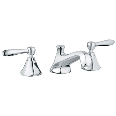 Grohe 20133 000 Somerset Three Hole Bath Faucet - Chrome| Kitchen ...