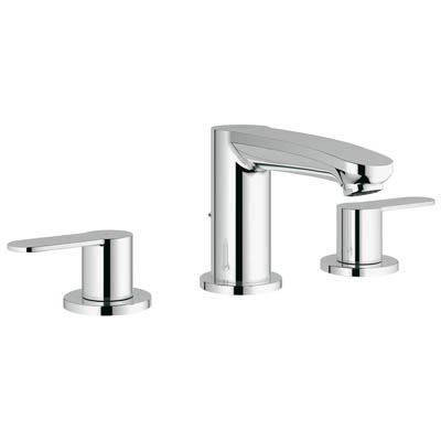Grohe 20209 002 Eurstyle Cosmopolitan 3 Hole Bath Faucet Chrome Kitchen Sink Faucets Bathroom Tub And Shower
