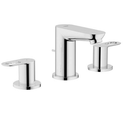 Grohe 20225 000 BauLoop Three-Hole Bath Faucet - Chrome| Kitchen ...