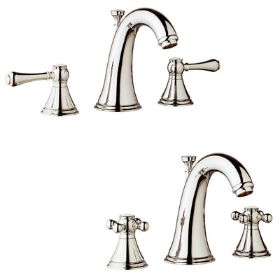 Grohe 20801 BE0 Geneva Three Hole Bath Faucet - Sterling| Kitchen ...