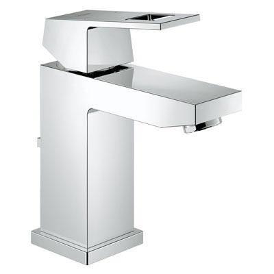 Grohe 23129 000 Eurocube Single-Lever Bath Faucet - Chrome  Kitchen ...