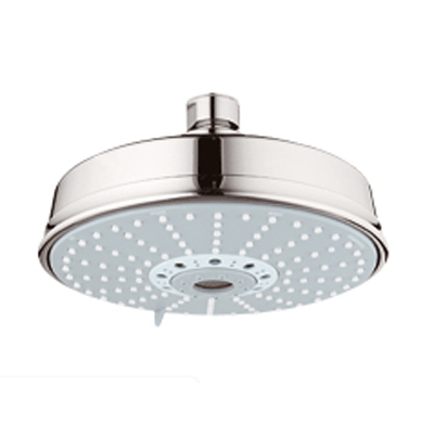 Rustic shower head New Grohe 27130be0 Rainshower Rustic Shower Head Sterling Kitchen Sink Faucets Bathroom Sink Faucets Tub And Shower Faucets Muveappco Grohe 27130be0 Rainshower Rustic Shower Head Sterling Kitchen
