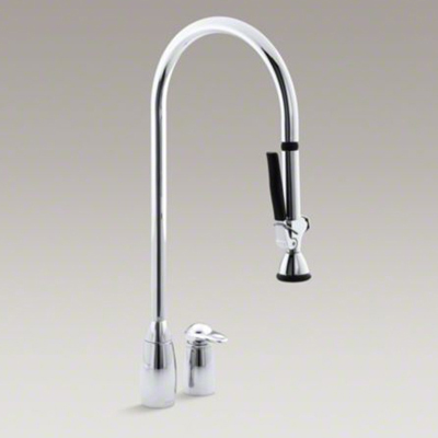 Kohler K-6330-CP ProMaster Two Hole Kitchen Sink with Overhead 27-1 ...