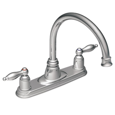 Moen Castleby Chrome Two Handle High Arc Kitchen Faucet   7902| Kitchen  Sink Faucets | Bathroom Sink Faucets | Tub And Shower Faucets