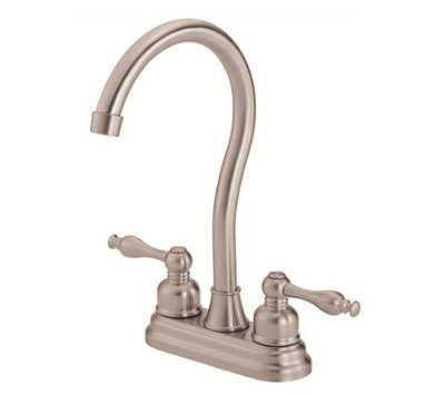 Danze D153555SS Sheridan Two Handle Stainless Steel Bar Faucet ...