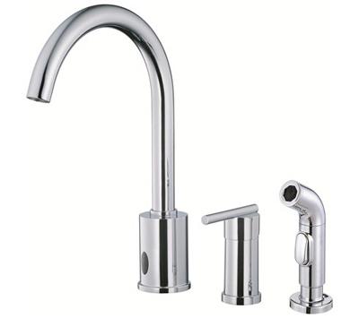 Danze D423058 Parma Dual Function Kitchen Faucet W/ Spray| Kitchen ...