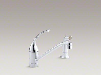 Kohler Coralais Two Hole Kitchen Sink Faucet With 10 Spout