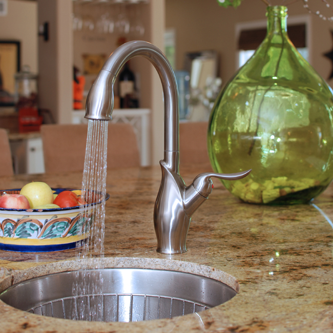 Fontaine Isabella Pull Down Kitchen Faucet Brushed Nickel Kitchen Sink Faucets Bathroom Sink Faucets Tub And Shower Faucets