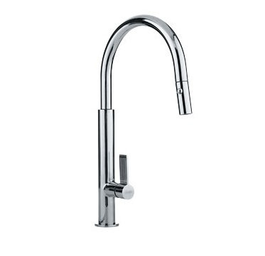 Franke FF2700 Pull Down Kitchen Faucet Polished Chrome 115.0199.329
