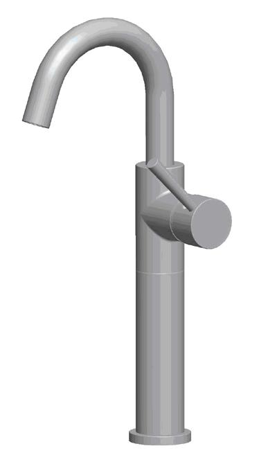 Suneli N10120-A-1-BN Brushed Nickel Bathroom Faucet