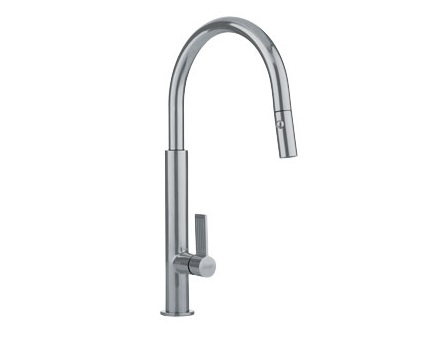 Franke FF2780 Pull Down Kitchen Faucet Satin Nickel 115.0199.330