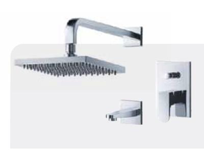 FLUID F1840-CP Utopia Tub & Shower Trim Package - Chrome