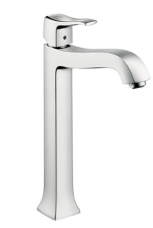 Hansgrohe 31078821 Metris C Tall Bathroom Faucet - Brushed Nickel