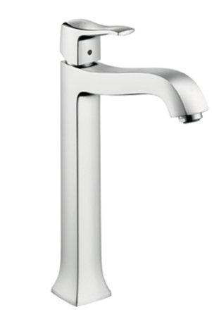 Hansgrohe 31078831 Metris C Tall Bathroom Faucet - Polished Nickel