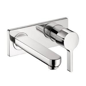 Hansgrohe 31163821 Metris S Wall Mounted Bathroom Faucet - Brushed Nickel