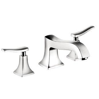 Hansgrohe 31313831 Metris C Roman Tub Filler Faucet Non Diverter - Polished Nickel