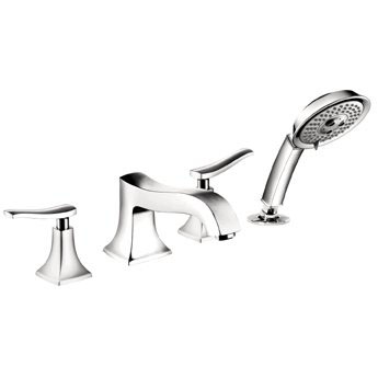 Hansgrohe 31314001 Metris C Roman Tub Filler Faucet with Diverter - Chrome