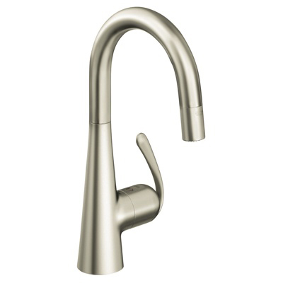 Grohe 32283 DC0 Ladylux3 Pro Single Lever Kitchen Faucet - Supersteel