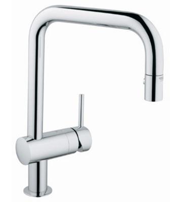 Grohe 32319 000 Minta Single Lever Kitchen Faucet - Chrome