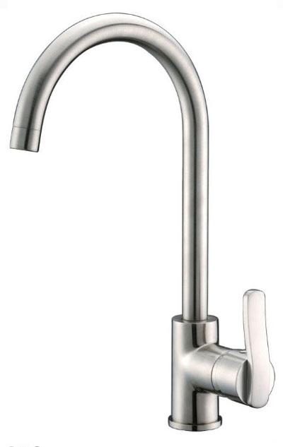 Alpha International 33-195BC Brushed Chrome Bar Faucet
