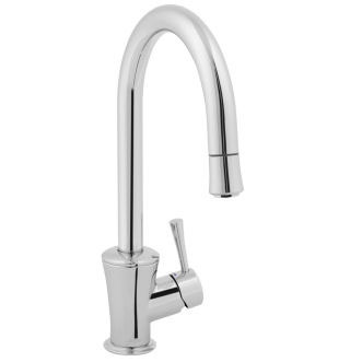 Jado 803/800/144 Basil Single Lever Kitchen Faucet - Brushed Nickel