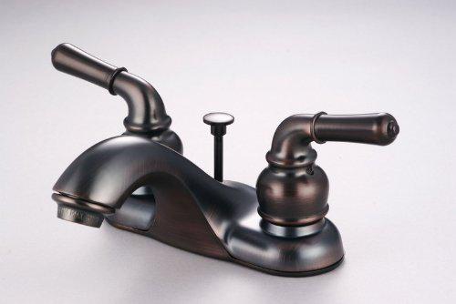 Hardware House 12-2269 2-Handle Lavatory Faucet - Oil Rubbed Bronze