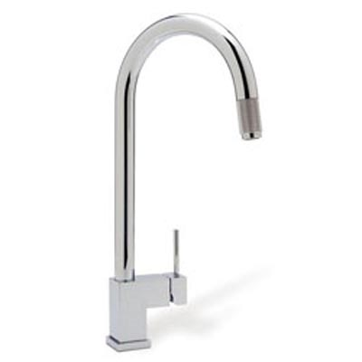 Blanco 440595 Cubiq Chrome Faucet W Pull Down Spray