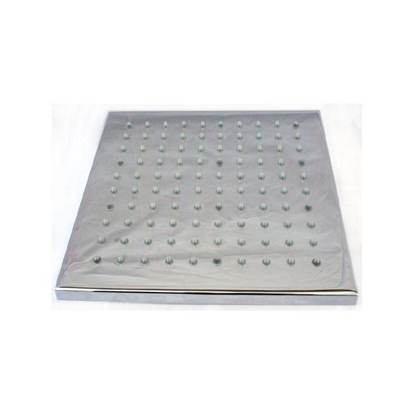Alfi LED5001 8-Inch Square Multi Color LED Rain Shower Head