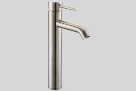Dawn AB37 1023 Single Lever Tall Lavatory Faucet Brushed Nickel