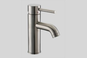 Dawn AB37 1433 Single Lever Lavatory Faucet Brushed Nickel