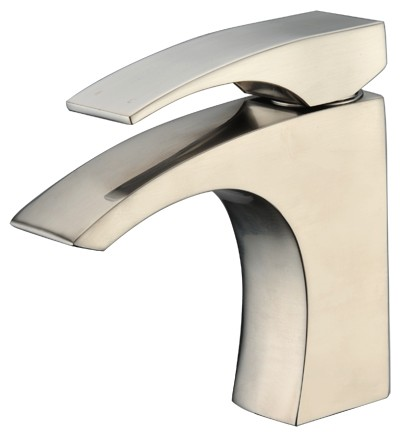 Dawn AB77 1586 Single Lever Lavatory Faucet Brushed Nickel