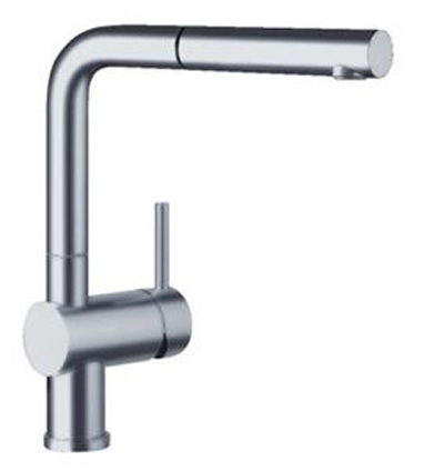 Blanco 441403 Linus Chrome Pullout Faucet W/ Dual Spray