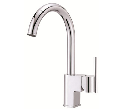 danze pull down kitchen faucet danze d457144 como single handle chrome pull kitchen 23445