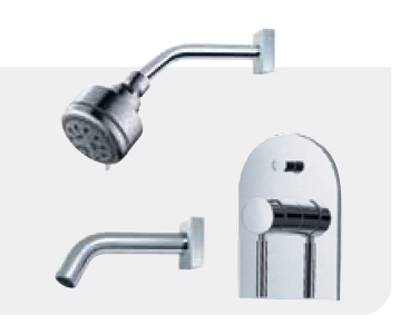 FLUID F1420T Value Priced Tub & Shower Package