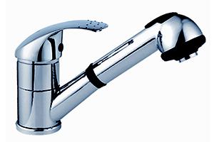 Alfa Chrome Kitchen Faucet FA00437