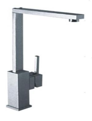 Alfa Brushed Bathroom Faucet FA10001