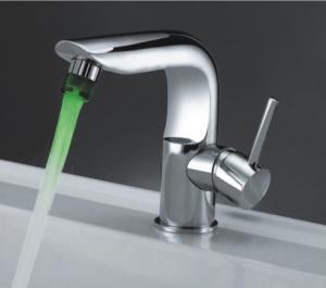 Alfa Brushed LED Bathroom Faucet FLED00061