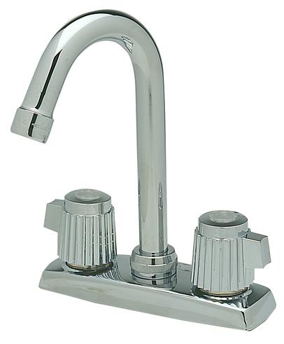 Elkay Lkd24898 Standard Faucet Chrome Kitchen Sink
