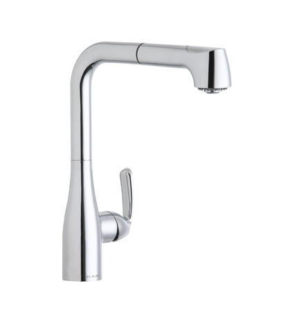 elkay gourmet lklfgt2041 low flow pull out kitchen faucet low water flow from kitchen faucet spout faucet