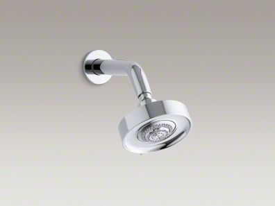 Kohler Stillness® 2.5 gpm multifunction wall-mount showerhead with arm and flange  K-968