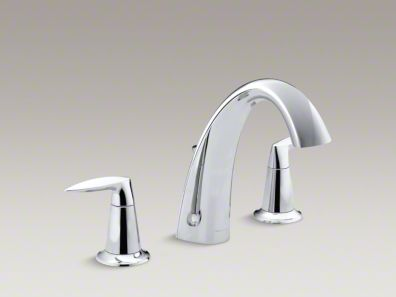 Kohler Alteo® Bath faucet trim with diverter, valve not included K-T6906-4