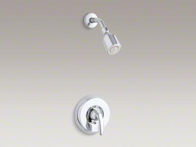 Kohler Coralais® shower trim set, valve not included K-T15611-4H
