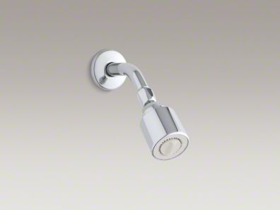 Kohler Coralais® 2.5 gpm single-function wall-mount showerhead with adjustable spray K-11742-CP