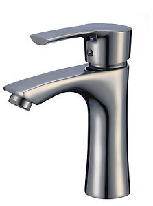 Pelican PL-8162-BN Single Handle 1-Hole Bathroom Sink Faucet in Brushed Nickel