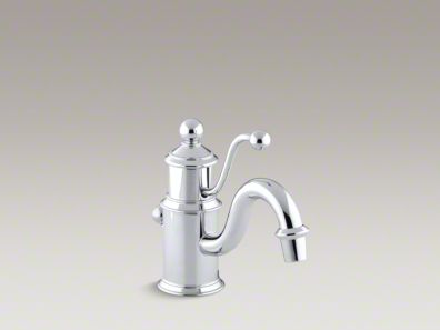 Kohler Antique Single-hole bathroom sink faucet with lever handle K-139