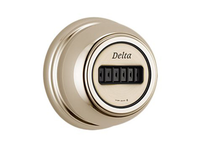 Detla T50001-PN H20kinetic Polished Nickel Body Spray + Rough