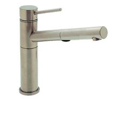 Blanco 441402 Alta Satin Nickel Pullout Faucet W/ Dual Spray