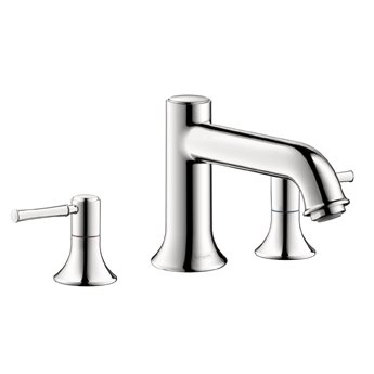 Hansgrohe 14313821 Talis C Roman Tub Filler Faucet Non Diverter - Brushed Nickel