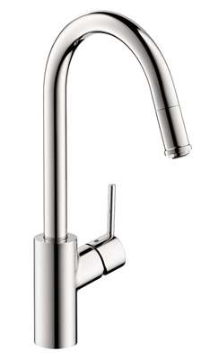 Hansgrohe 14872801 Talis S Kitchen Faucet Steel Optik